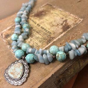 Jewelry - Tiffany Blue Turquoise Choker